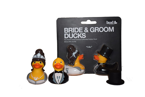 Bride and Groom Mini Ducks