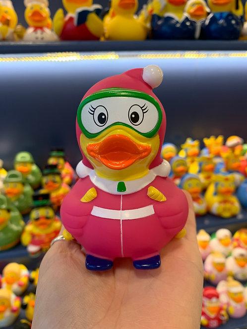 Ski Lady Rubber Duck