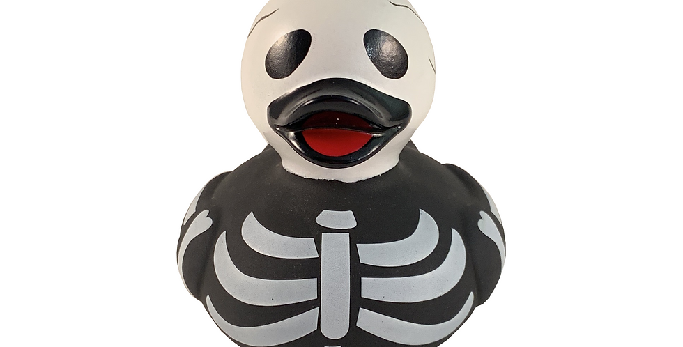 Skeleton Rubber Duck