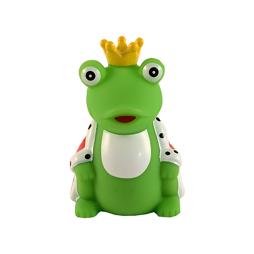 Frog Prince Rubber Duck