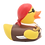Thumbnail: Brown Pirate  Rubber Duck