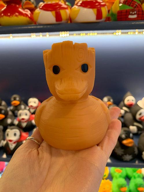 Woody Guardian Rubber Duck