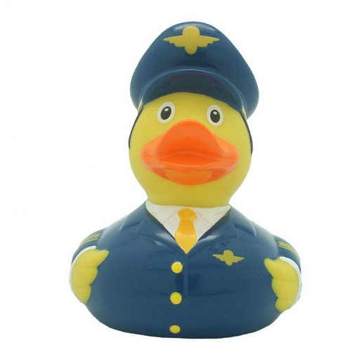 Airplane Pilot Rubber Duck