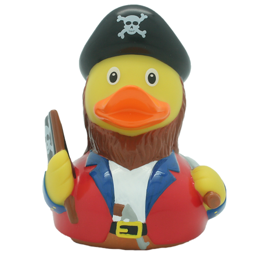 Red Pirate Rubber Duck