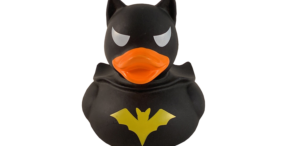 Black Bat Rubber Duck