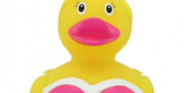 Lady  Bunny Rubber Duck