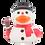 Thumbnail: Snowman Rubber Duck