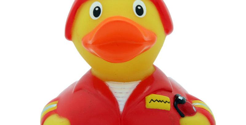 Red Fireman Rubber Duck