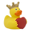 Thumbnail: Personal Message Heart Rubber Duck