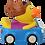 Thumbnail: Car Driver Lady Rubber Duck