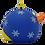 Thumbnail: Bauble Blue Rubber Duck