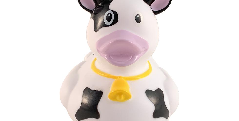 Black Cow Rubber Duck