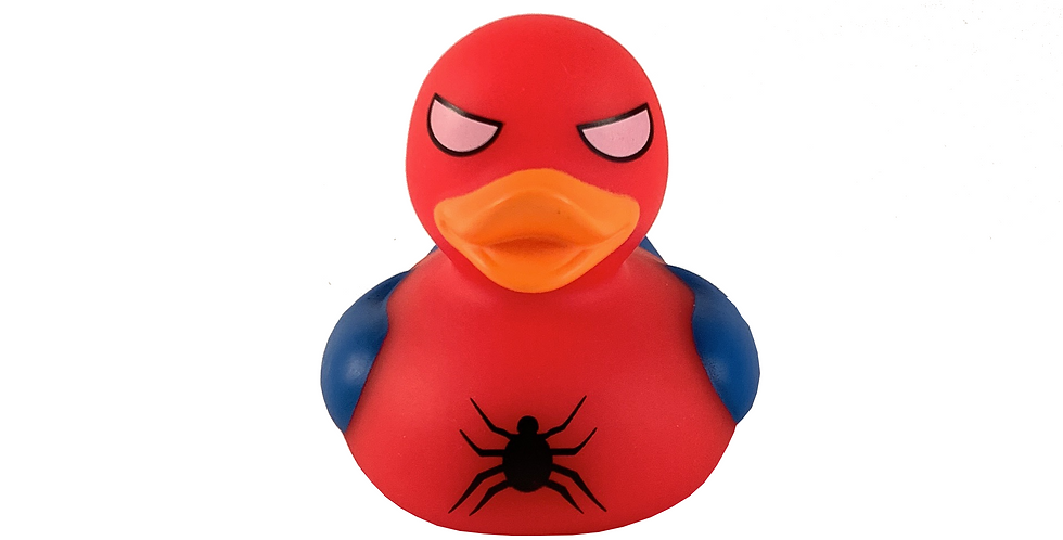Spider Rubber Duck
