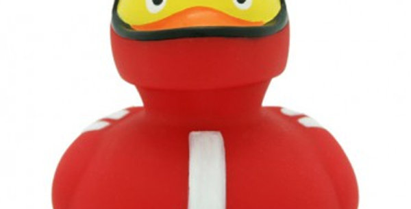 Red Racer Rubber Duck