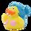 Thumbnail: Mermaid Rubber Duck Blue