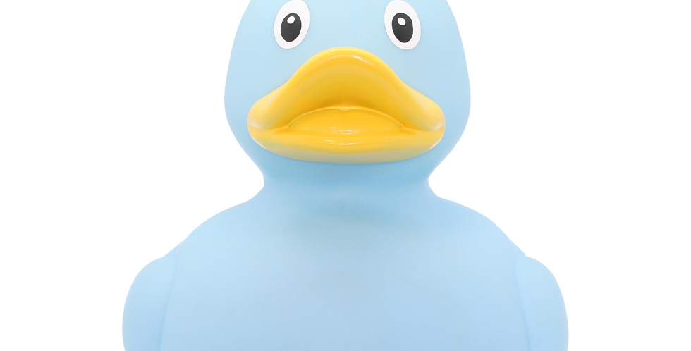 Giant Blue Crown Rubber Duck