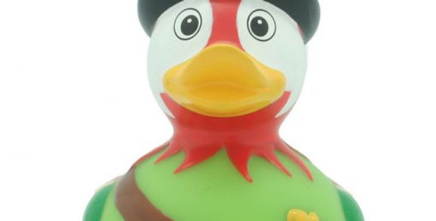 Parrot Pirate Rubber Duck