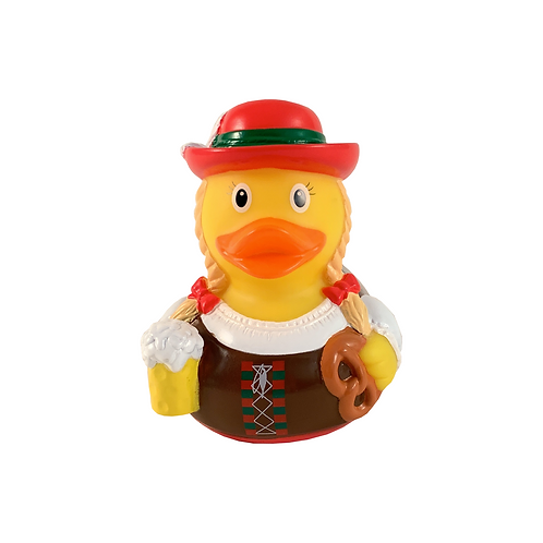 German Woman Rubber Duck