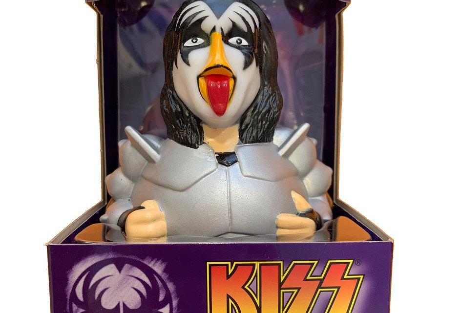 Kiss The Demon Rubber Duck