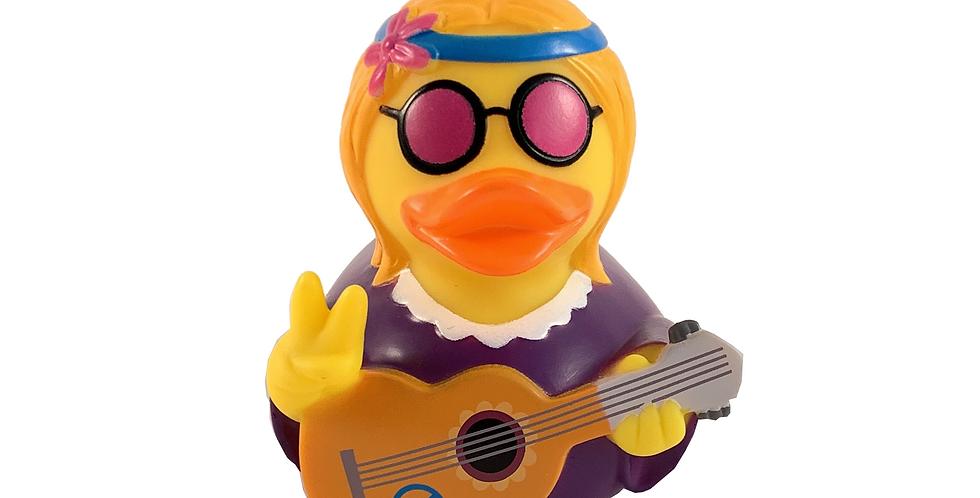 Hippie Lady Rubber Duck
