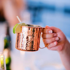 Signature Drink🥃 Moscow Mules are alway