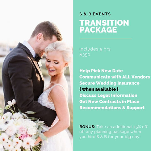 Transition Wedding Package