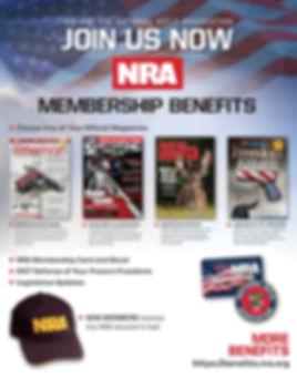 NRA membership benefits