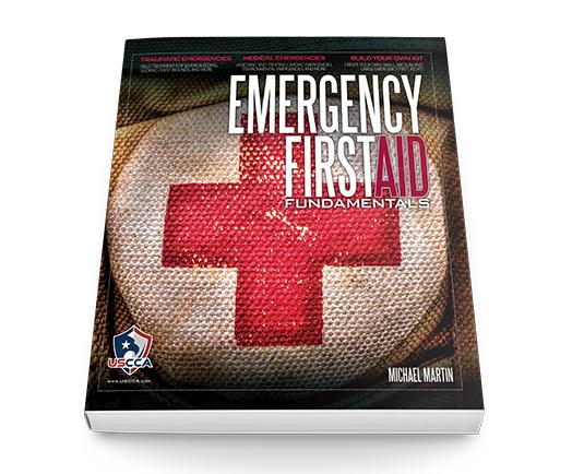 USCCA Emergency First Aid Fundamentals Book