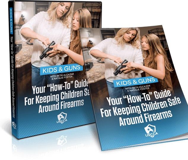 Kids & Guns Training Package - DVD + Companion Guide