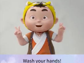 'Wash Your Hands' viral video!