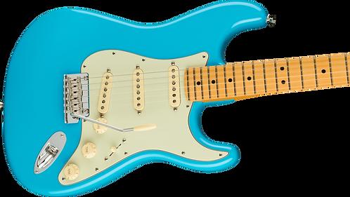 Fender American Professional II Stratocaster®, Maple Fingerboard, Miami Blue