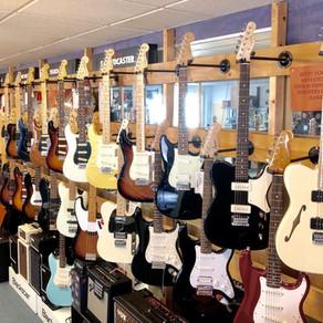 Cort, Epiphone, ESP/LTD, Fender, FGN, Music Man, Orange, PRS, Squier, Vintage,Vox