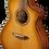 Thumbnail: BREEDLOVE Westerngitarre O.S. SNC Concert Copper mit Cutaway
