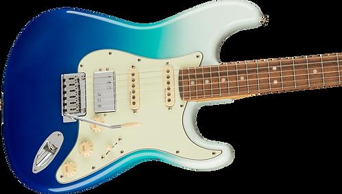 Fender Player Plus Stratocaster® HSS, Pau Ferro Fingerboard, Belair Blue