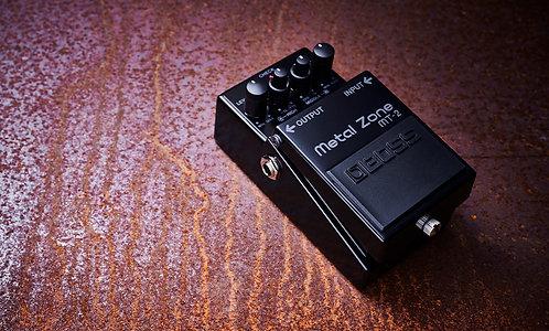 BOSS MT-2-3A Limited Edition zum 30-jährigen Jubiläum des MT-2 Metal Zone