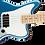 Thumbnail: Affinity Series™ Jaguar® Bass H, Maple Fingerboard, White Pickguard, Lake Placid