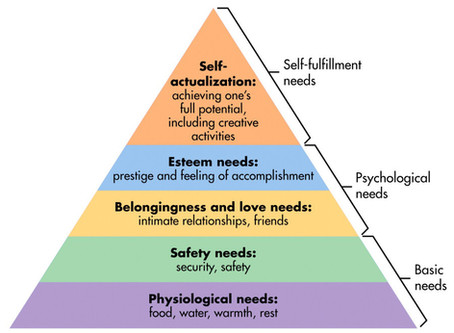 Your Daily Occupation: Hierarchy of Needs