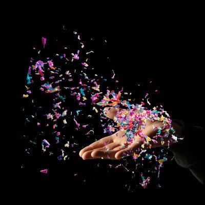 Sleeve Confetti Launcher by Bojan
