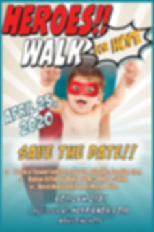 Walk for Hope Save the Date postcard 202