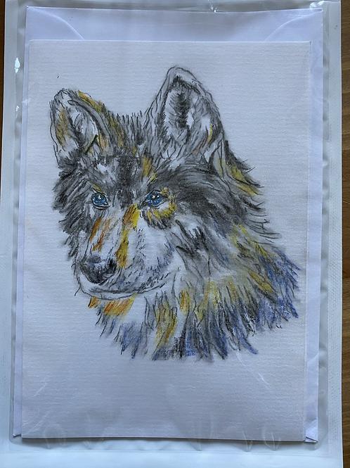 Carte - Tête de loup