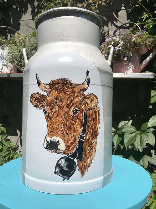 Boille à lait - vache brune