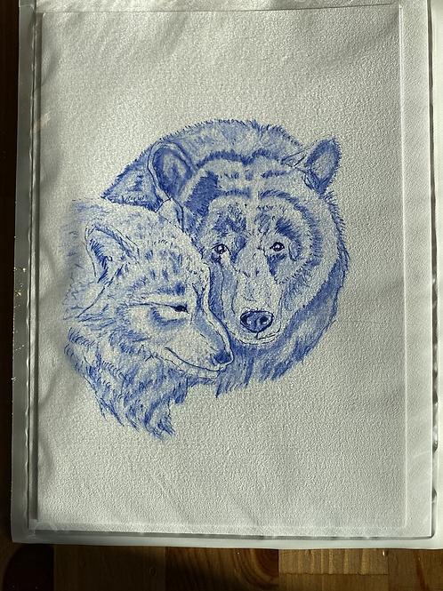 Carte - l'ours & la louve