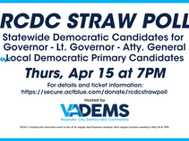 You're Invited to the RCDC Straw Poll!