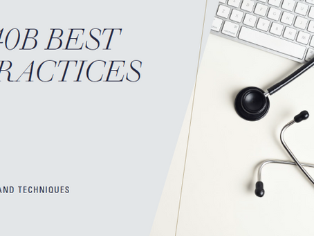 340B Best Practices- Tips and Techniques