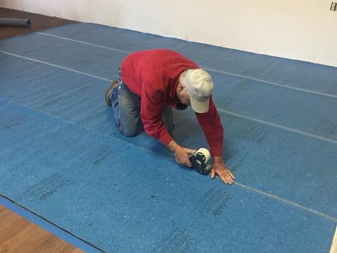 Floor padding