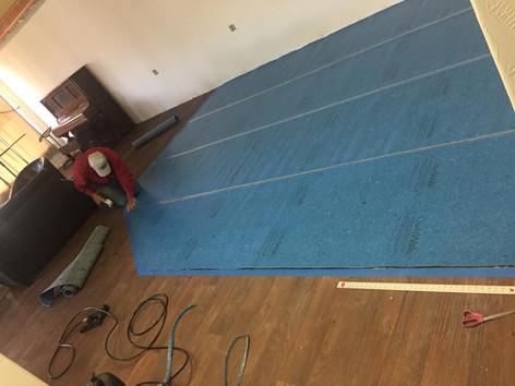 Floor padding 2