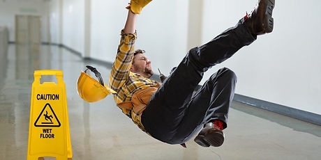 Construction Worker Slipping - Comparati