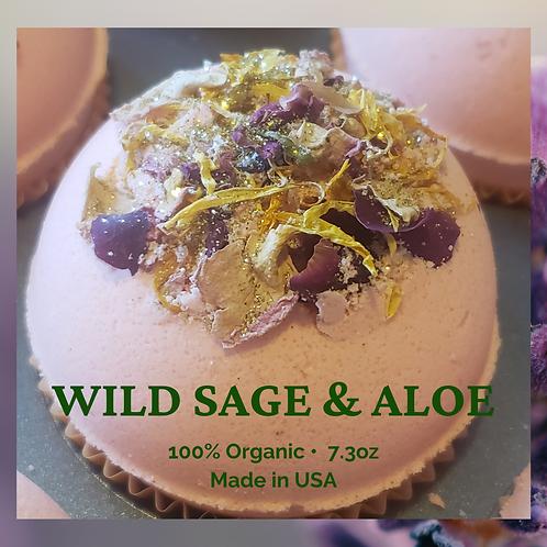Happy Bomb ™ with Wild Sage & Aloe Vera Scent