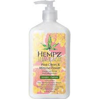 Pink Citron & Mimosa Flower Energizing Herbal Body Moisturizer
