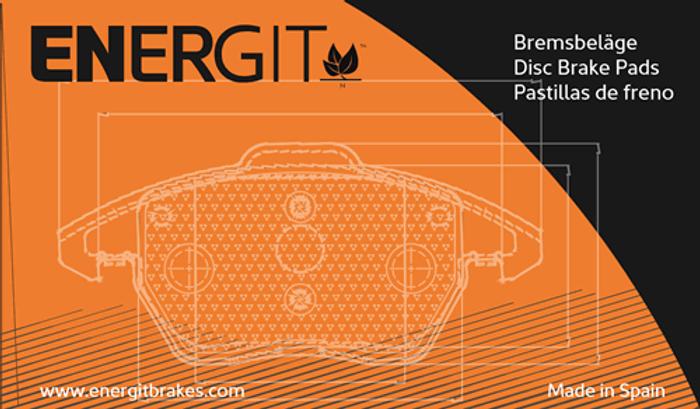 Energit disc brake pads made in Spain